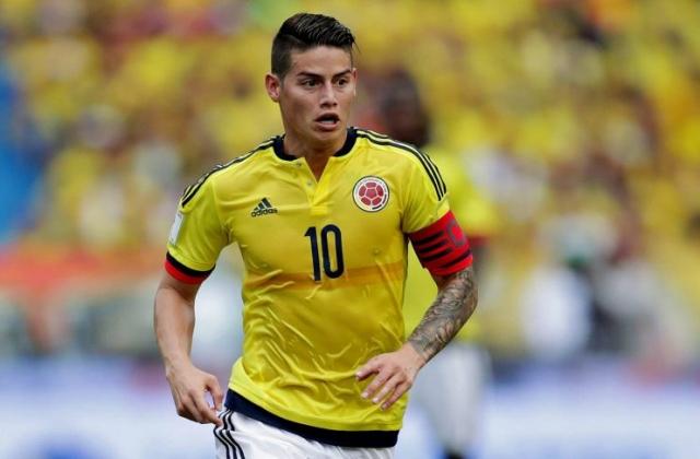 James Rodríguez, Colômbia. 19,1 milhões €